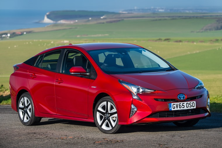 Toyota Prius Mk4 My2017 Red Front