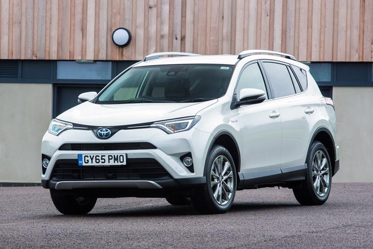 Toyota Rav4 Hybrid 2016 White Front Static