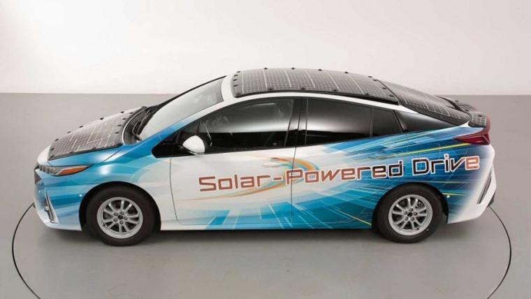Toyota Solar Powered Prius