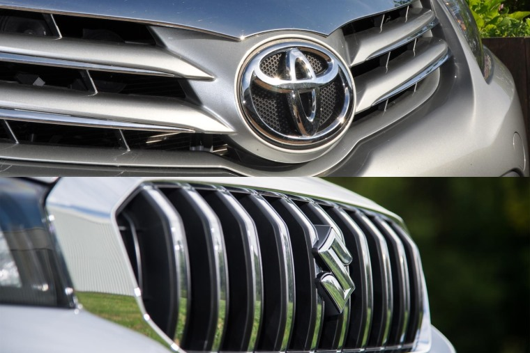 Image result for toyota and suzuki