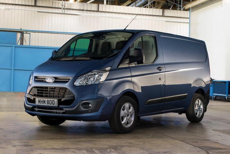 Transit Custom leads CV sales