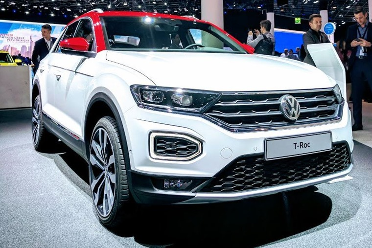 The T-Roc is one of Volkswagen's most important cars on show at Frankfurt.