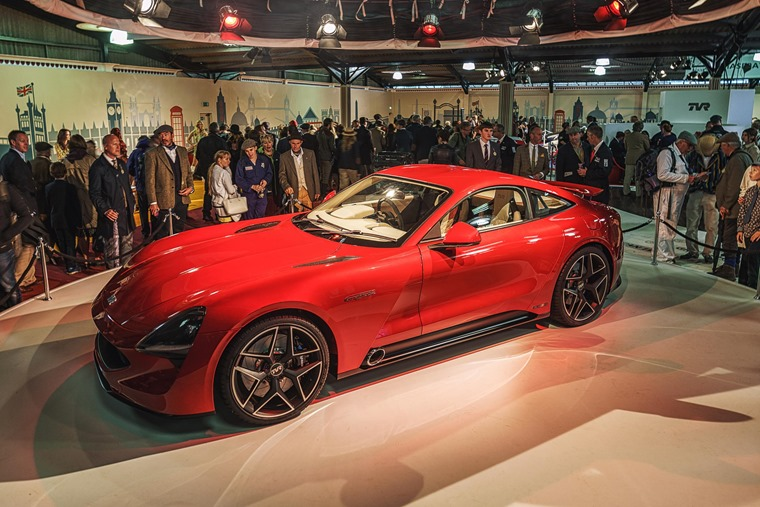 TVR Griffith at motor show