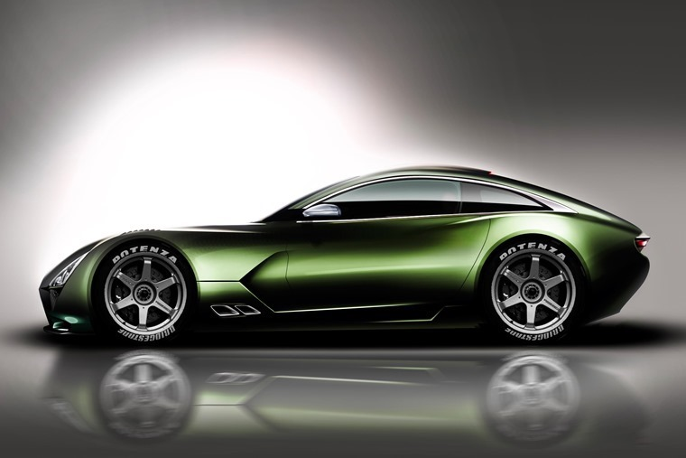 TVR's eagerly anticipated hyper coupe... but will it get the Griffith namesake?