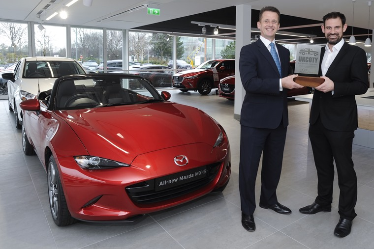 Mazda's MX-5 has won the coveted prize in the past too.