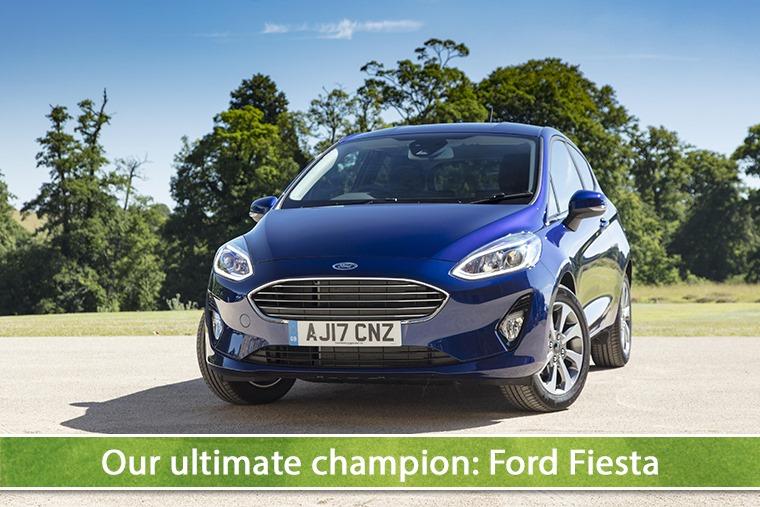 Our supermini shootout champion: Ford Fiesta