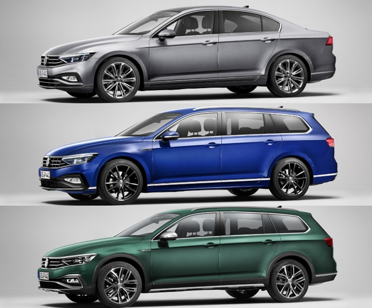 Updated Passat range 2019