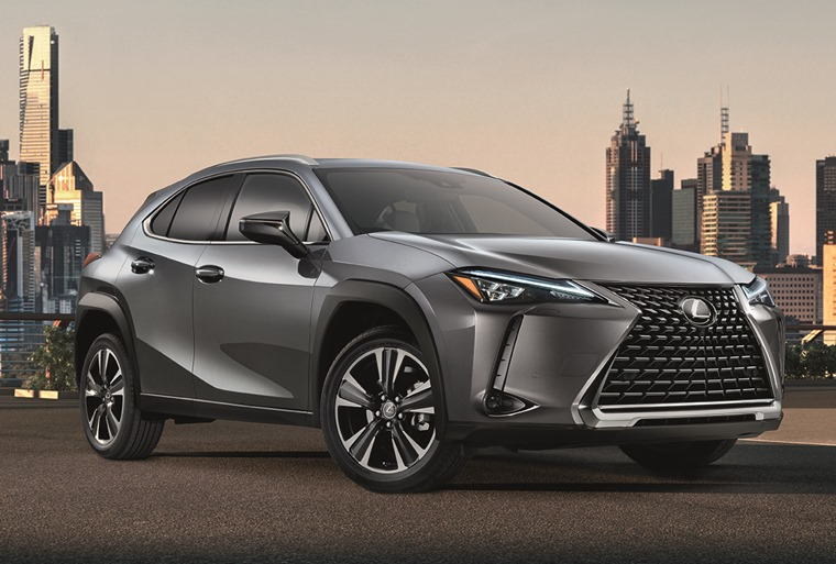 2018 Lexus UX gets Geneva debut