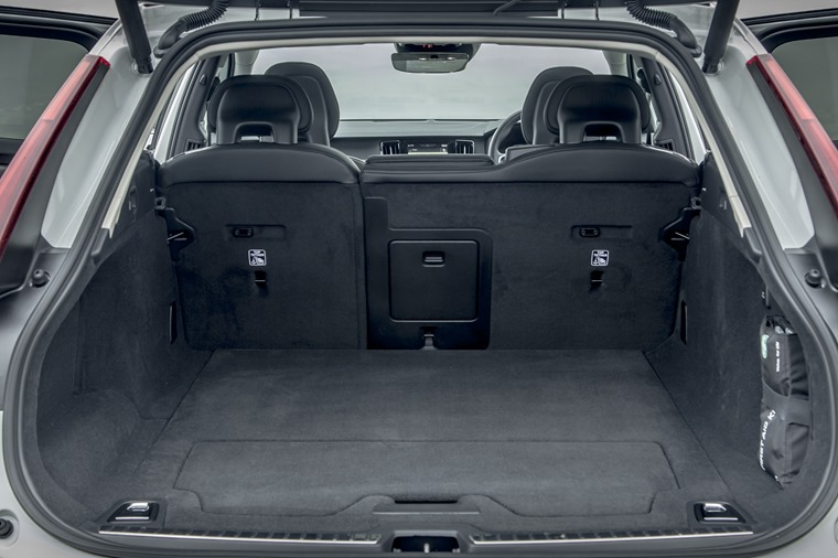 Boot space is still impressive, although some German rivals offer more luggage capacity
