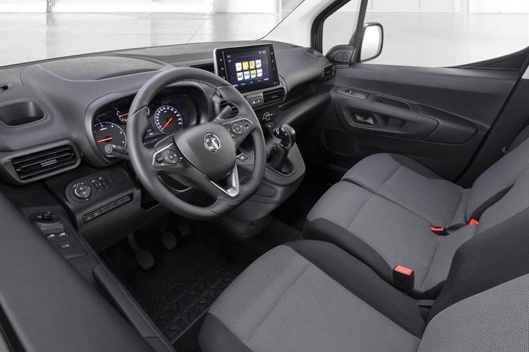 Vauxhall Combo interior 2018