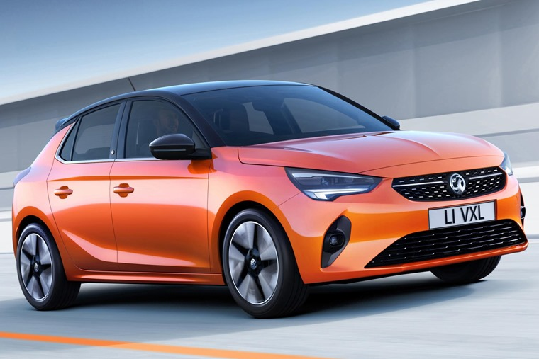 Vauxhall Corsa 2020 driving