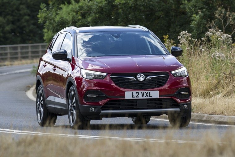 The new Grandland X was Vauxhall's most enquired model