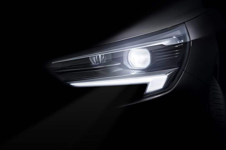 Vauxhall has released a teaser image of the all-new Corsa