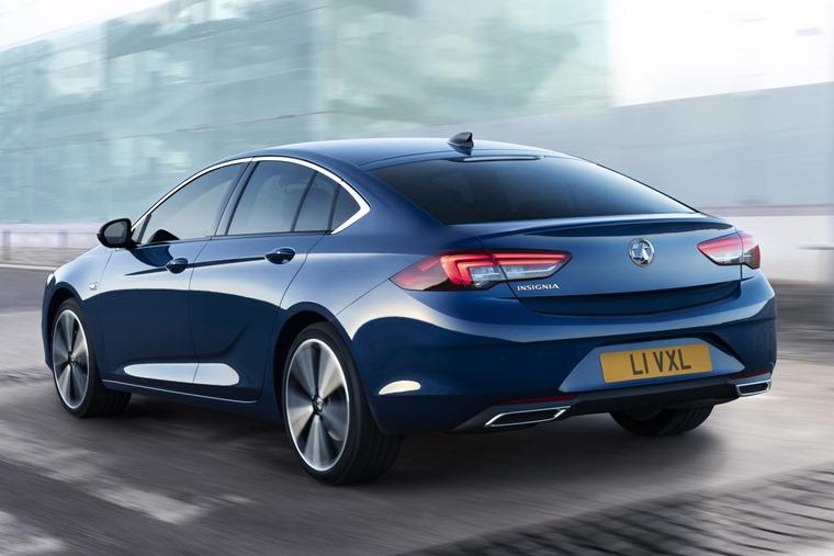 Vauxhall Insignia rear