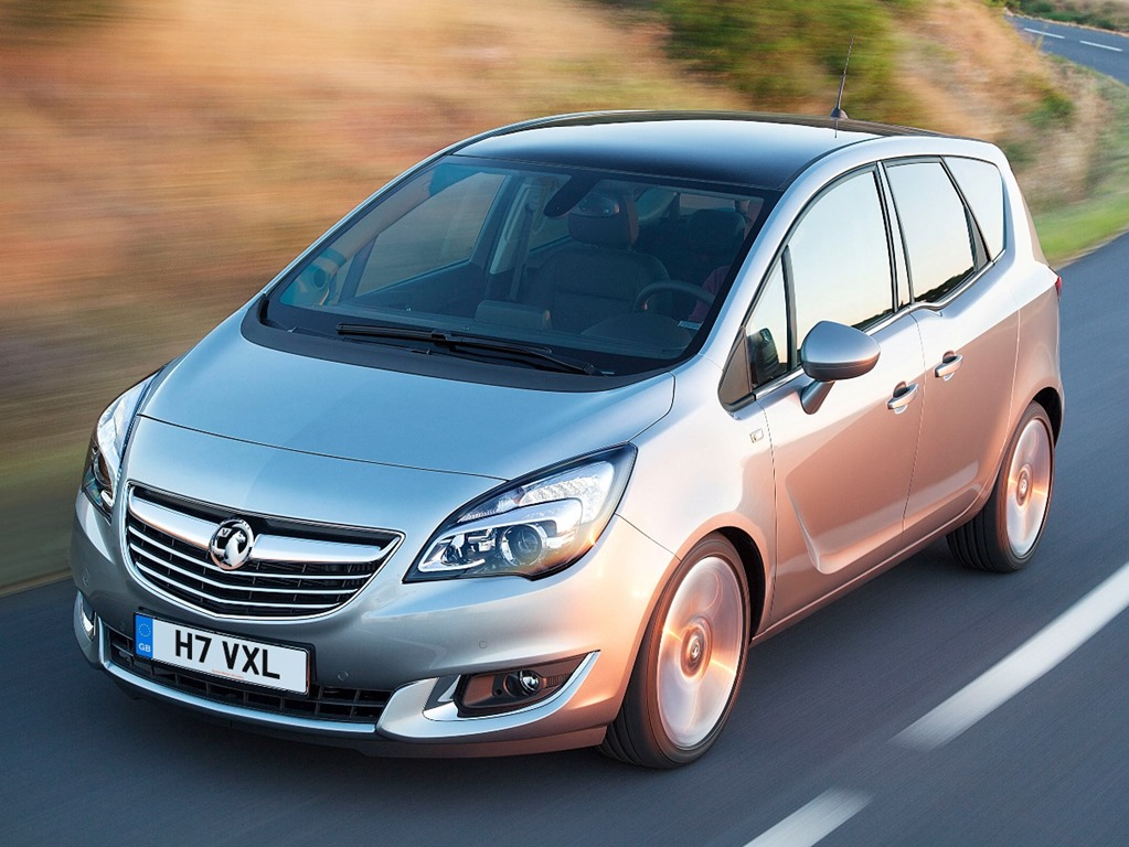 Vauxhall Meriva Gets New Diesel Engine And Minor Makeover