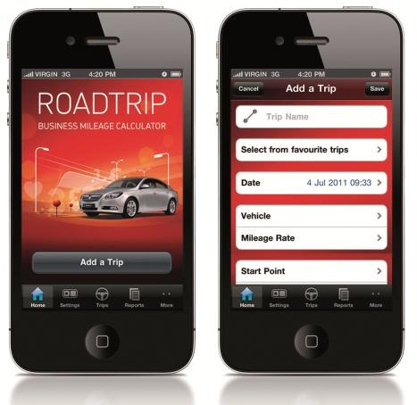 vauxhall launches business miles calculator app