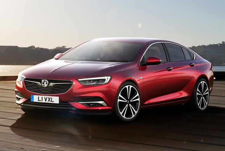 The Vauxhall Insignia Grand Sport is coming soon.