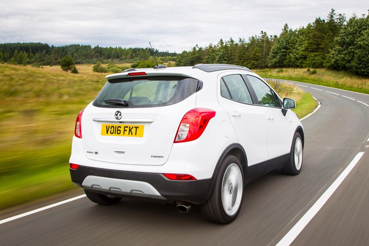 The Mokka X is comfortable, masking the cracks and bumps of UK roads well