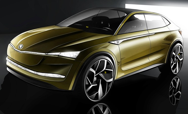 Seat has given us a glimpse of its future electric SUV, the Vision E.