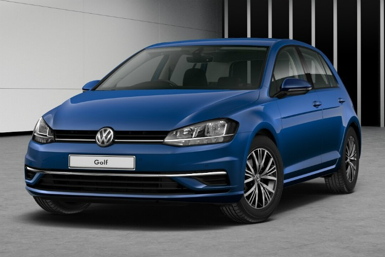 Volkswagen Golf Atlantic Blue 575