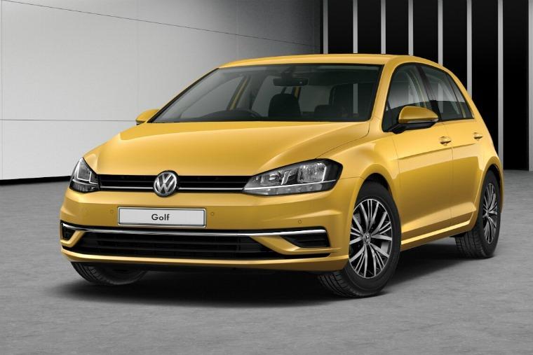 Volkswagen Golf Tumeric Yellow £575