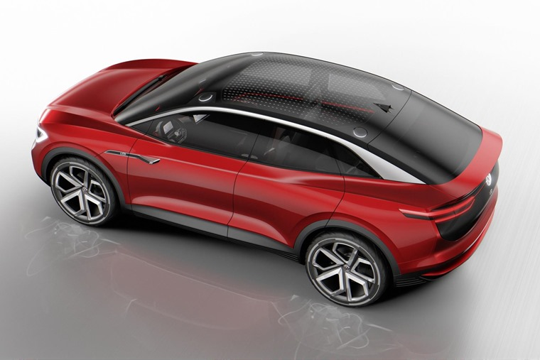 All three I.D. concept cars share the new 'all-electric architecture' that was developed as a common platform