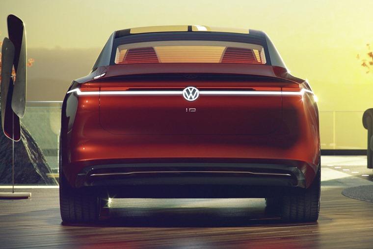 Volkswagen I.D. VIZZION rear 1