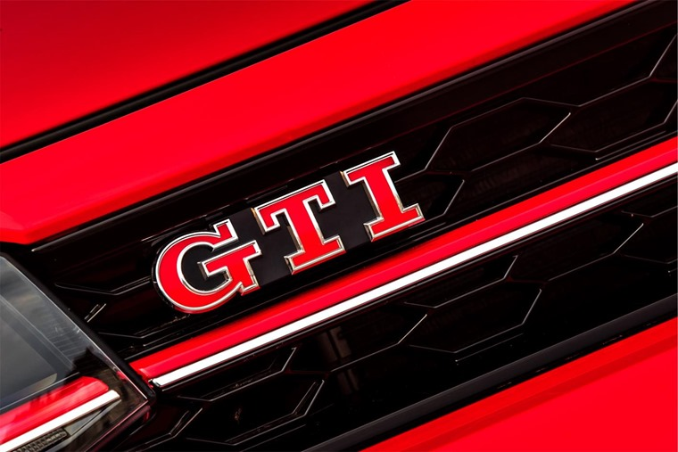 Volkswagen Polo GTI badge