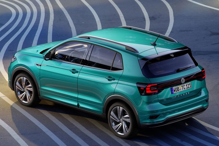 Volkswagen T-Cross - an all-new crossover coming later this year.