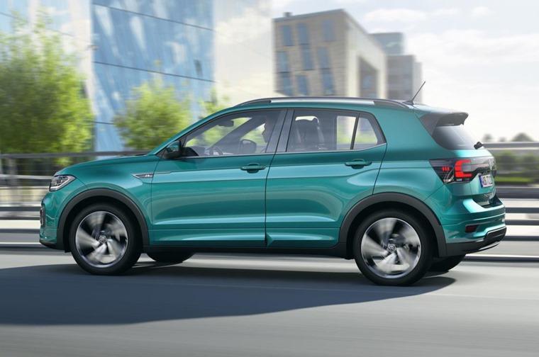 Volkswagen T-Cross side