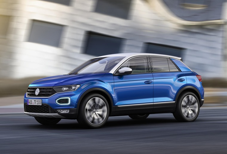 Volkswagen T-Roc is now available to lease.