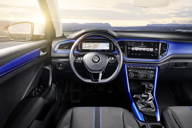 Volkswagen T-Roc driver interior