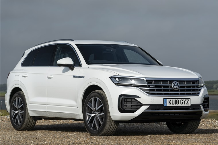 Volkswagen Touareg front