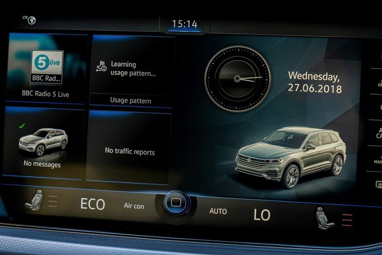 Volkswagen Touareg infotainment