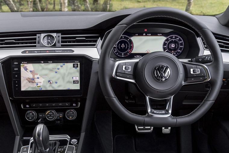 Volkswagen Arteon driving position