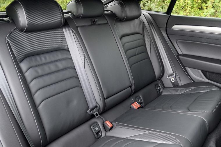 Volkswagen Arteon rear passenger seats