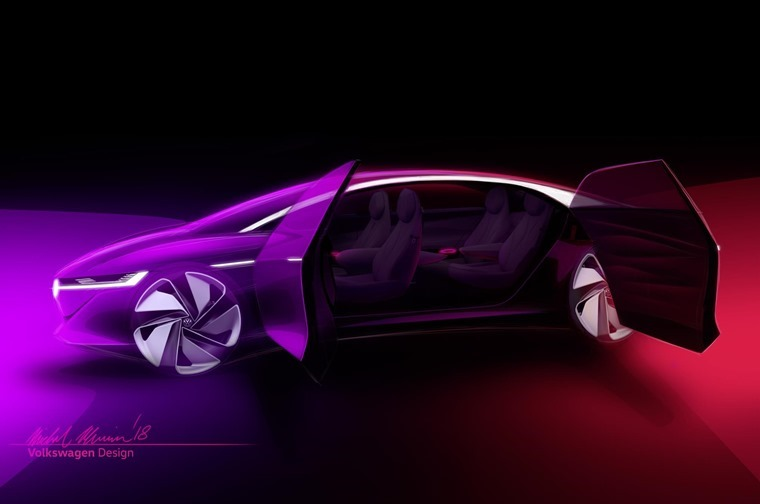 Volkswagen has released their latest I.D. concept, the Vizzion