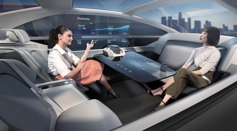 Volvo 360c Concept meeting
