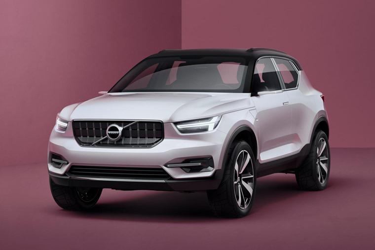 Volvo 40.1 Concept 2016 White Front Static