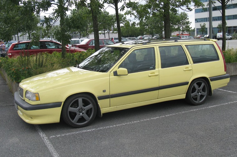 Volvo 850R T5 cream yellow flickr user nakhon100