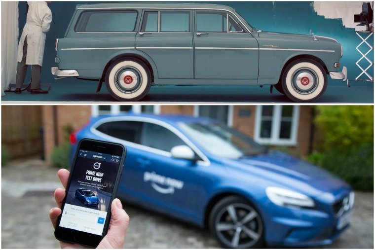 Volvo and Amazon... it's got a ring to it