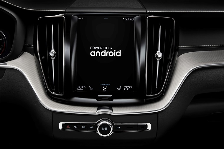 Volvo Android OS Google