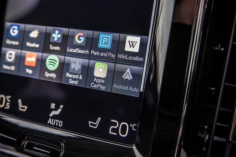 Volvo Infotainment Android Google