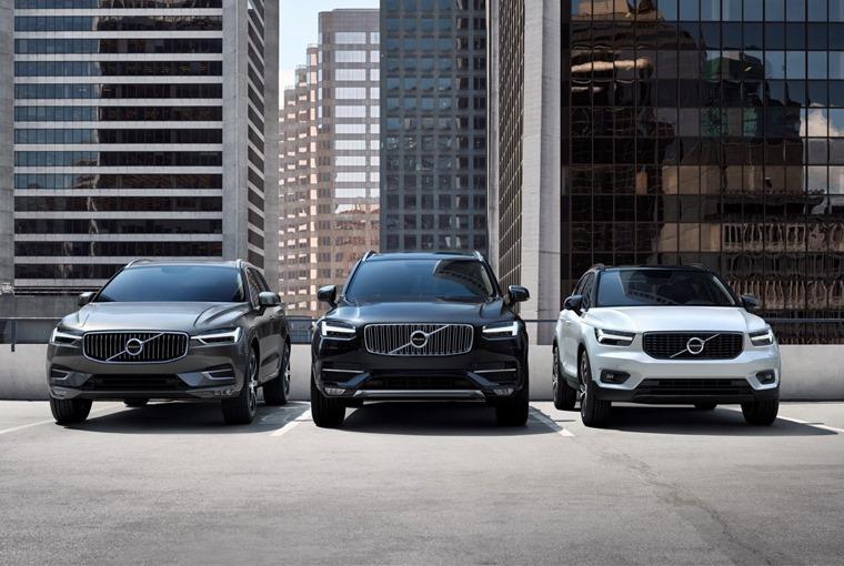 Volvo SUV line-up