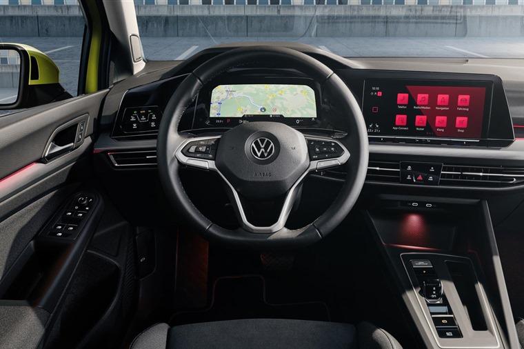 VW Golf 2020 Digital Cockpit