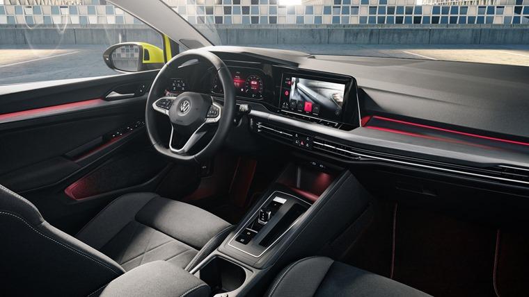 VW Golf 8 interior