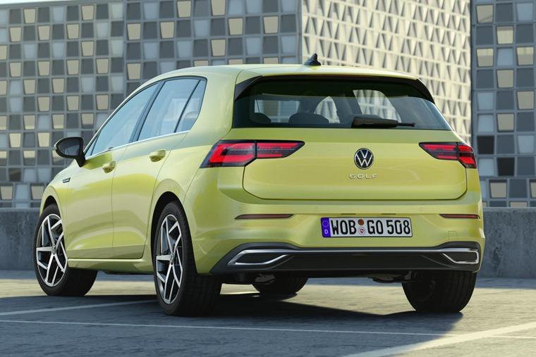 VW Golf 8 rear