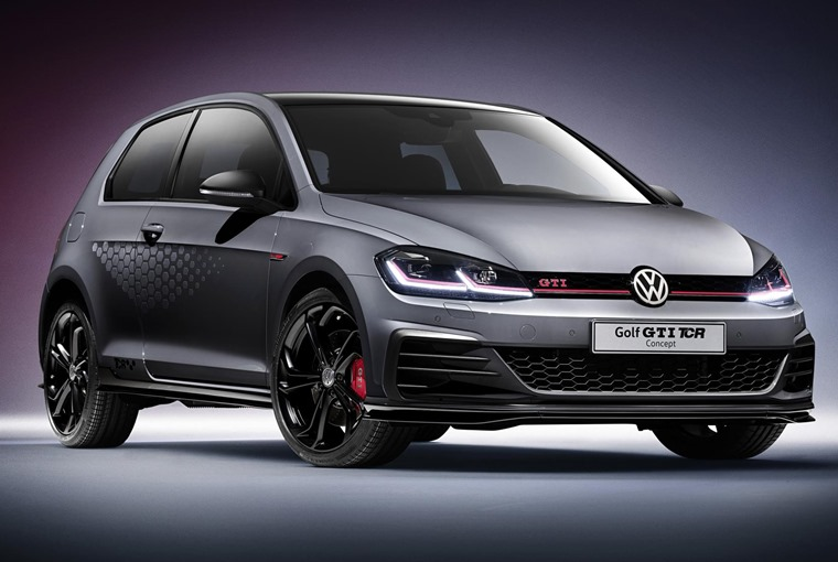 VW Golf GTI TCR front