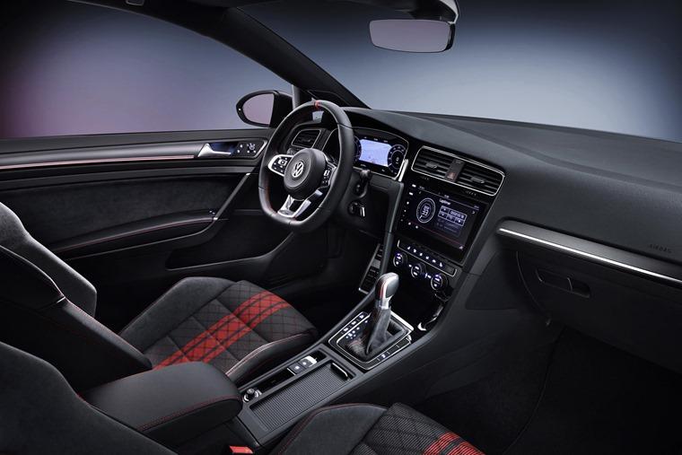VW Golf GTI TCR interior