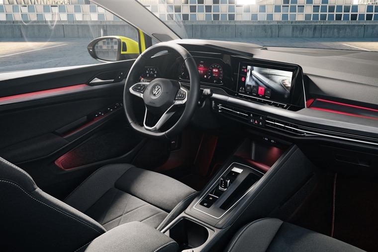 VW Golf interior full